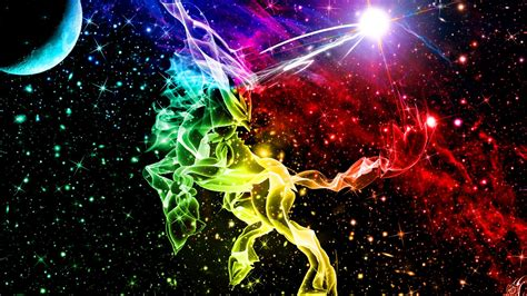 cool unicorn wallpaper abstract unicorn in space cool wallpapers