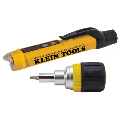 klein tools ncvt 2 blue light klein tools confined space electrical maintenance kit 2