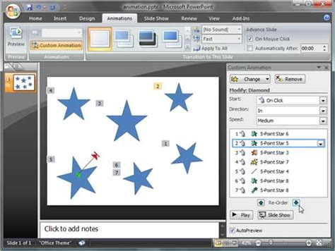 19 how to make a firework animation in microsoft powerpoint 2007
