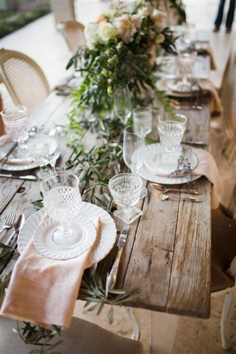 rustic french wedding theme