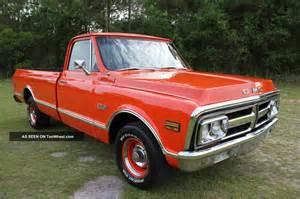 Did Pontiac Make A Truck 1971 Gmc 1500 Custom Truck General Motors Make Me