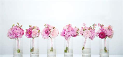 doorschijnende bloemen goedkope decoratie op jouw trouwdag vaasjes en flesjes