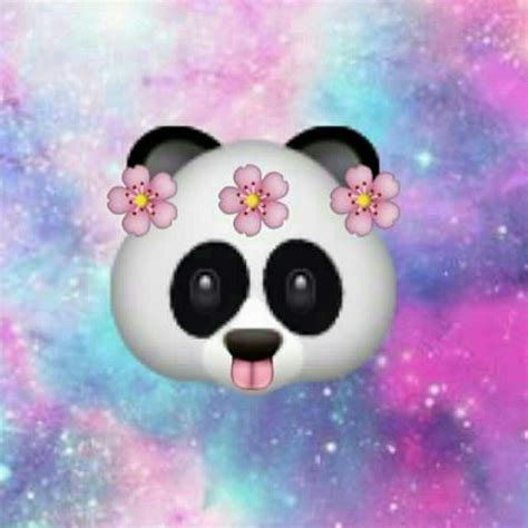wallpaper galaxy emoji emoji panda image 3055369 by olga b on favim com