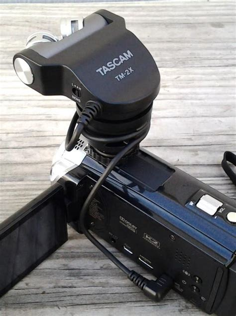 Tascam Tm2x tascam tm 2x stereo xy condenser dslr microphone tm 2x b h