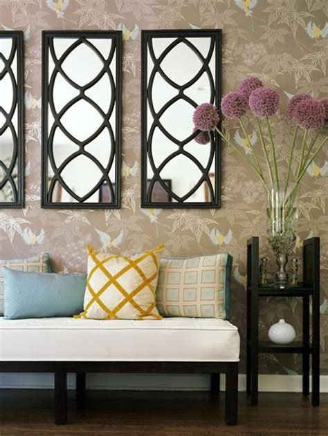 fotos de decoracion de paredes decoraci 243 n de paredes con espejos 35 fotos de ideas