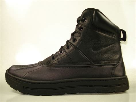nike woodside acg boots black 386469 004 sizes ebay