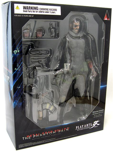 Metal Gear Solid Phantom Venom Snake Play Arts venom snake sneaking suit metal gear solid v phantom