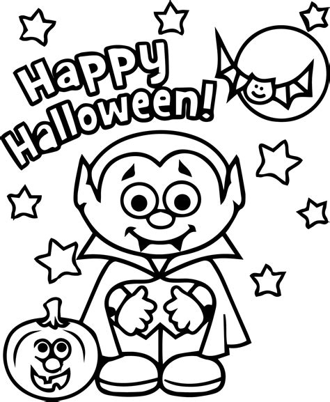 halloween coloring pages free download vire best happy halloween coloring page wecoloringpage