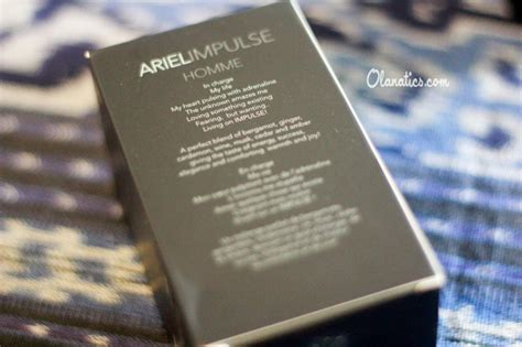 Harga Parfum Merk Ariel review ariel impulse homme eau de parfum ola aswandi
