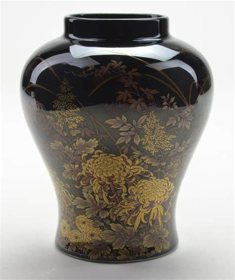 Collectible Pottery Vases by Collectible Pottery Black Vase 6 Quot