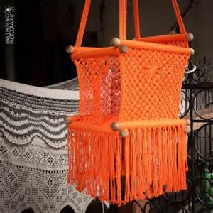 macrame swing chair baby swing chair in macrame soft cotton hangahammock