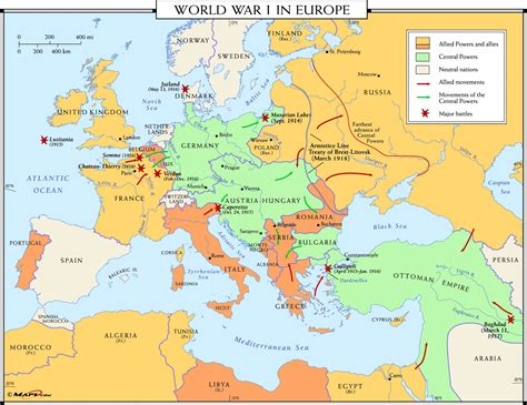 after europe world war 1 map of europe roundtripticket me