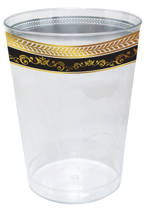 Paper Bowl 10 Oz 300ml Ala Cup Kentang royal collection 10oz clear plastic cup with black and gold royal border 10 ct royal
