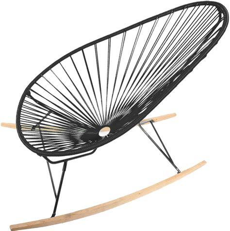 acapulco chair acapulco chair wood rocker design schaukelstuhl boqa