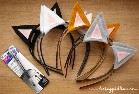 How To Make Paper Cat Ears - crayons and collars with and pets easy diy cat