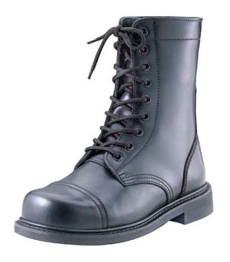 steel toe combat boots rothco gi type steel toe combat boot in black 9