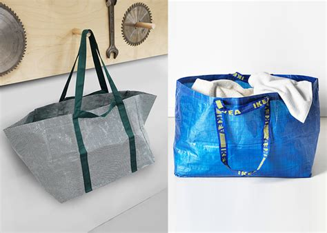 hay ikea bag symbiosis between ikea hay and tom dixon more with less