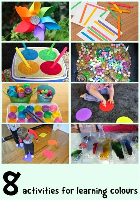 list of colour activities learning 4 kids 17 best images about colours on pinterest activities