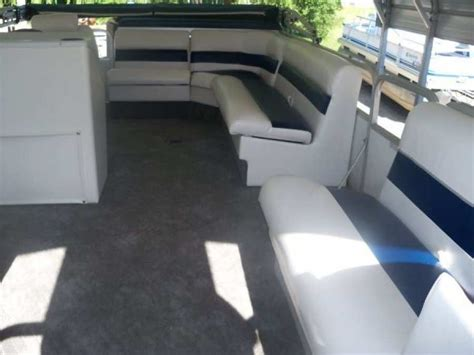Boat Upholstery Michigan pontoon boat redecking carpeting upholstery central michigan adhoards