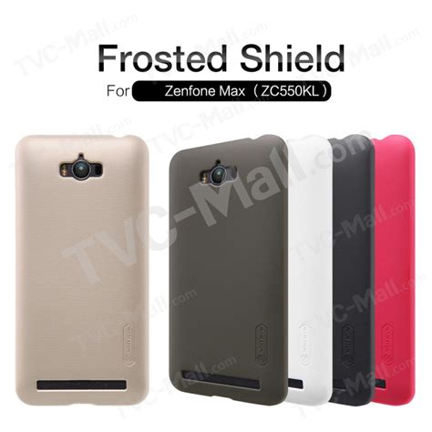 Nillkin Frosted Shield Asus Zenfone Max Zc550kl Berkualitas nillkin frosted shield pc for asus zenfone max zc550kl with screen protector