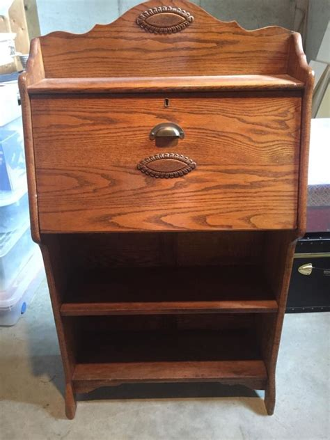antique drop front secretary desk with bookcase antique slant front desks for sale classifieds