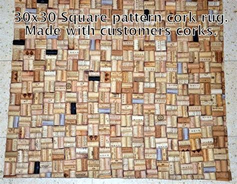wine cork rug wine cork rug made with recycled corks kitchen sink floor mat or do