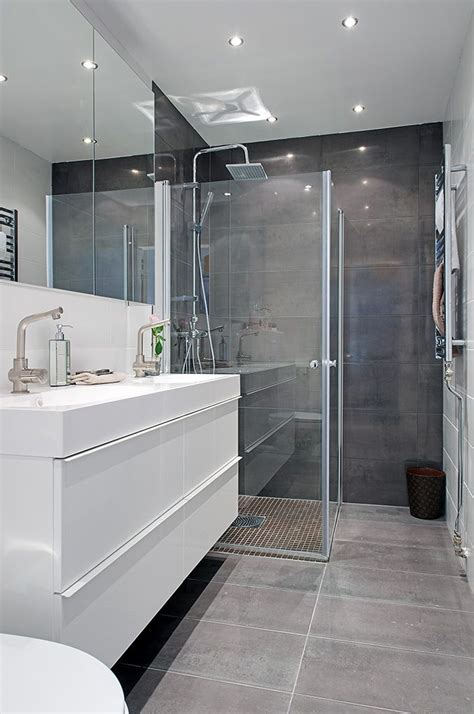 best contemporary grey bathrooms ideas on pinterest model