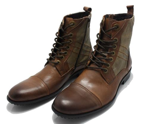 mens leather boots mens fashion leather boots yu boots