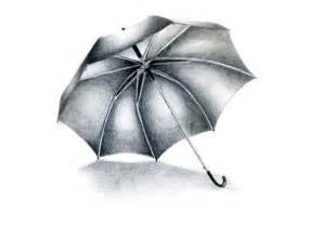 umbrella still life drawing by innovative squirrel on