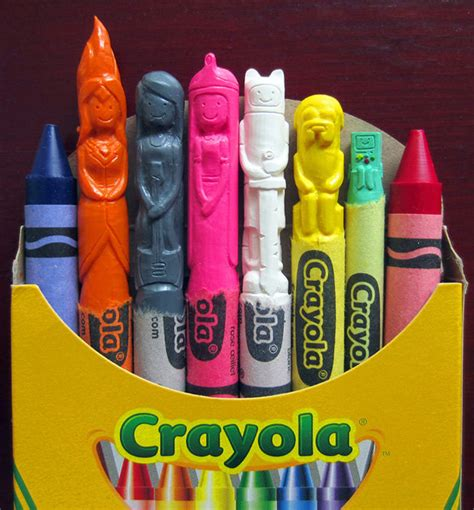 chagne and wax crayons 190779493x wax nostalgic by carvedcrayons on etsy