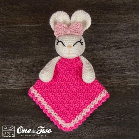 bunny lovey crochet pattern free olivia the bunny security blanket crochet pattern