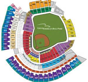 cincinnati reds seating chart great american park