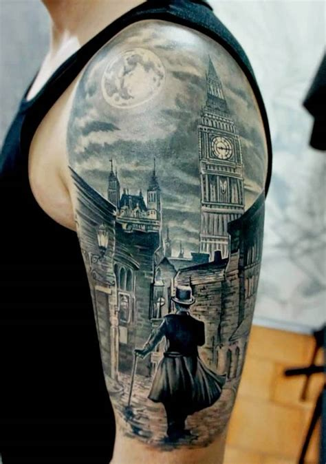 Tattoo London New School | image gallery london big ben tattoos