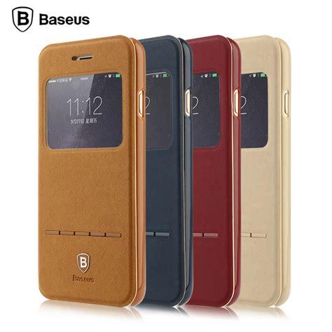 Baseus Lustre Series For Iphone 6 Plus 6s Plus 1 baseus terse classic series windows flip folding pu