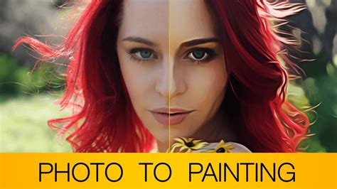 photoshop cs3 oil painting effect tutorial photoshop tutorial photo to oil painting cartoon bonus