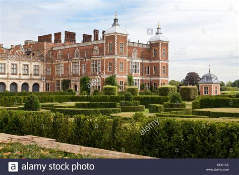 houses to buy in hatfield hatfield house and gardens located in the county of hertfordshire stock photo royalty