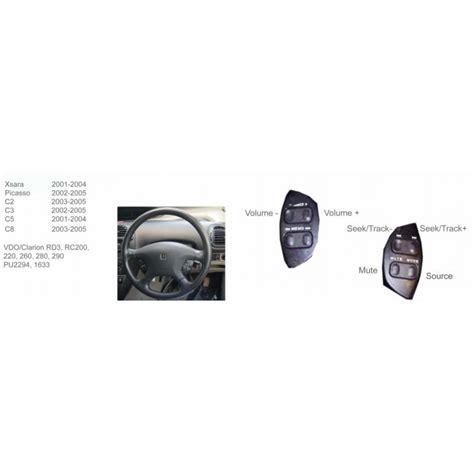 volante citroen c2 ctsct002 interface mandos volante citroen c2 c3 c5 c8