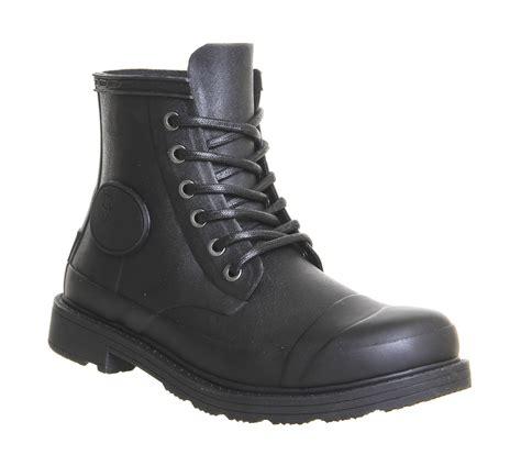 Original Blackmaster Low Boots Wings Black original bullseye derby black ankle boots