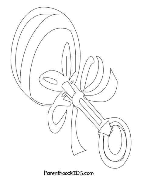 coloring page rattle free coloring pages of rattle for baby