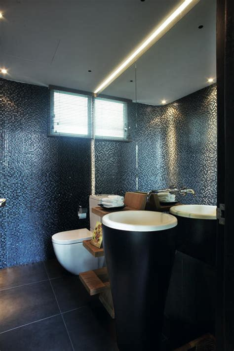 bathroom designs   dark colours home decor