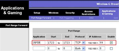 vpn port number how to open tcp port 1723 in windows 7