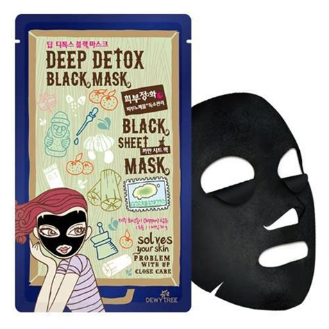 Dewytree Detox Black Mask dewytree detox black mask korean skincare shop malaysia