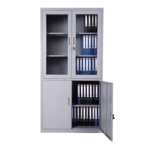 Steel Inner Safe Glass Doors Filing Cabinet Malaysia Metal Metal Storage Cabinet With Glass Doors