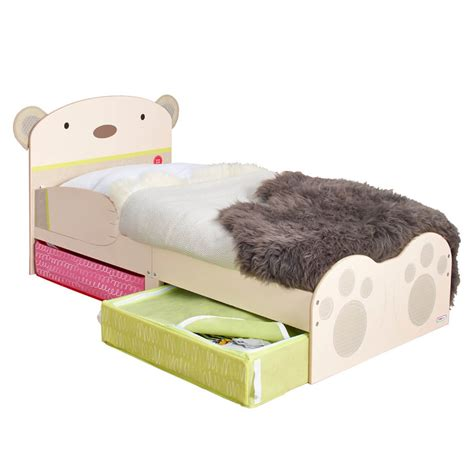 Toddler Bed With Storage by Baby Toddler Bed With Storage Free Delivery Fads