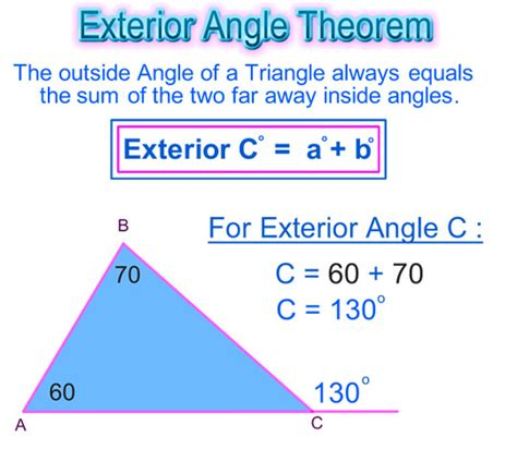 Worksheet Triangle Sum And Exterior Angle Theorem Answers by Worksheet Triangle Sum And Exterior Angle Theorem Work
