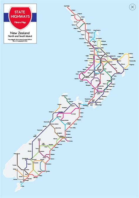 printable maps nz new zealand wall maps