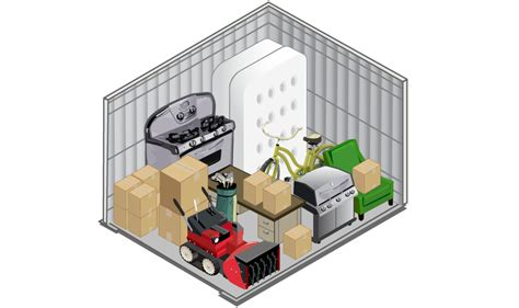 how many square in a 10x10 room five storage storage unit size guide