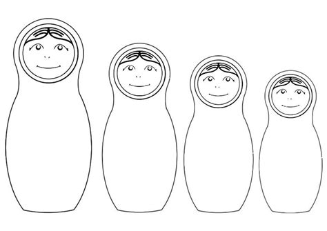 russian boy coloring page russian nesting dolls coloring page coloring page