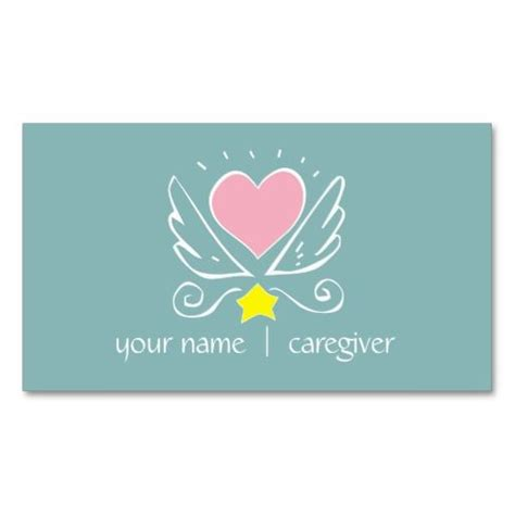 caregiver business cards 8 best images about caregiver ideas cards gifts pca on