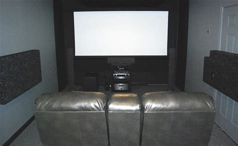Garage Theater by Mrfattbill S Home Theater Gallery Garage Theater 206